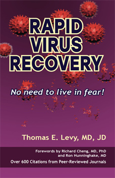 Book cover : Rapid Virus Recovery by Dr. Thomas Levy